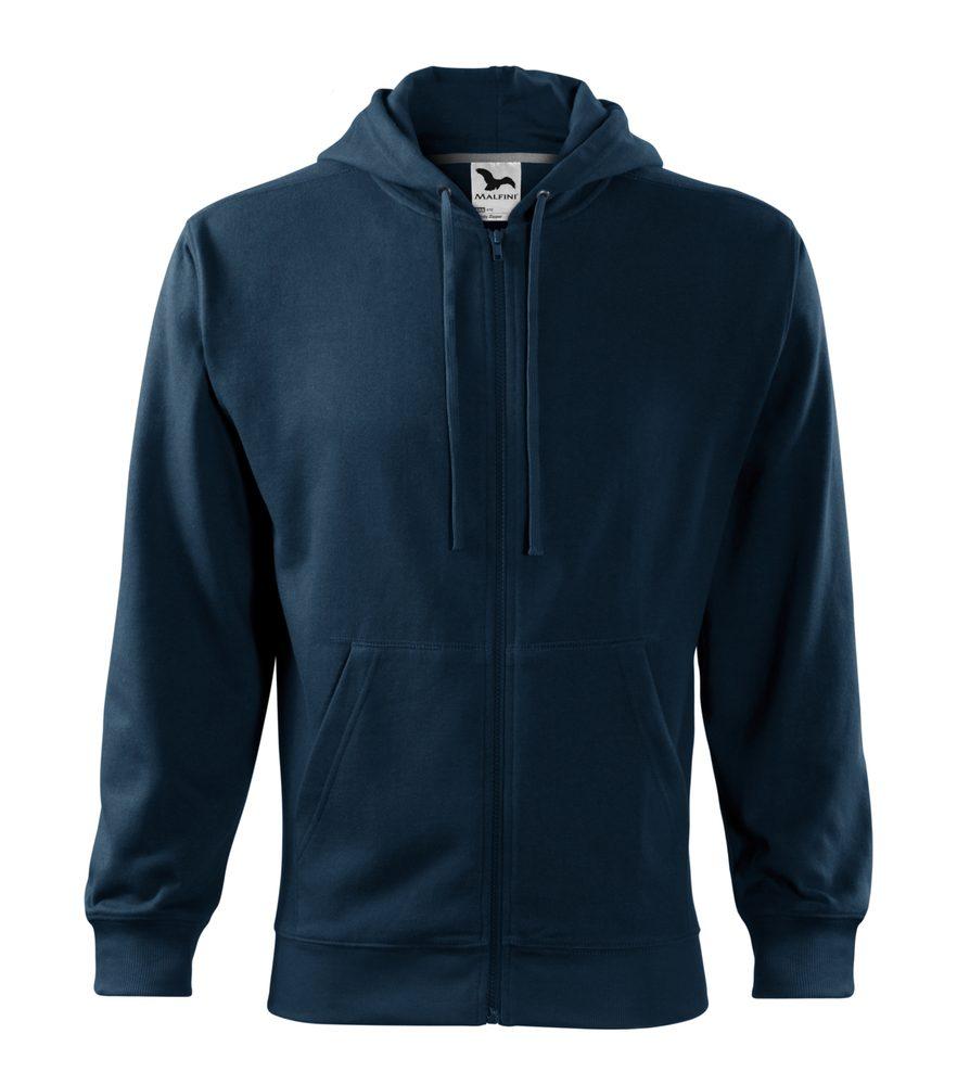 Adler Pánska mikina Trendy Zipper - Námořní modrá | XXXL