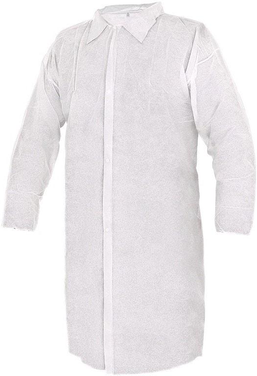 Canis Jednorázový bílý plášť CXS RICK - XL