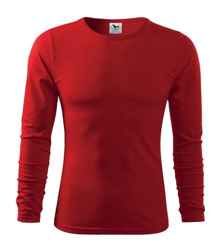 Pánské tričko s dlouhým rukávem Fit-T Long Sleeve - Červená | S