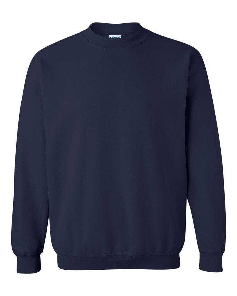 Gildan Mikina bez kapucne Gildan - Tmavě modrá | XL