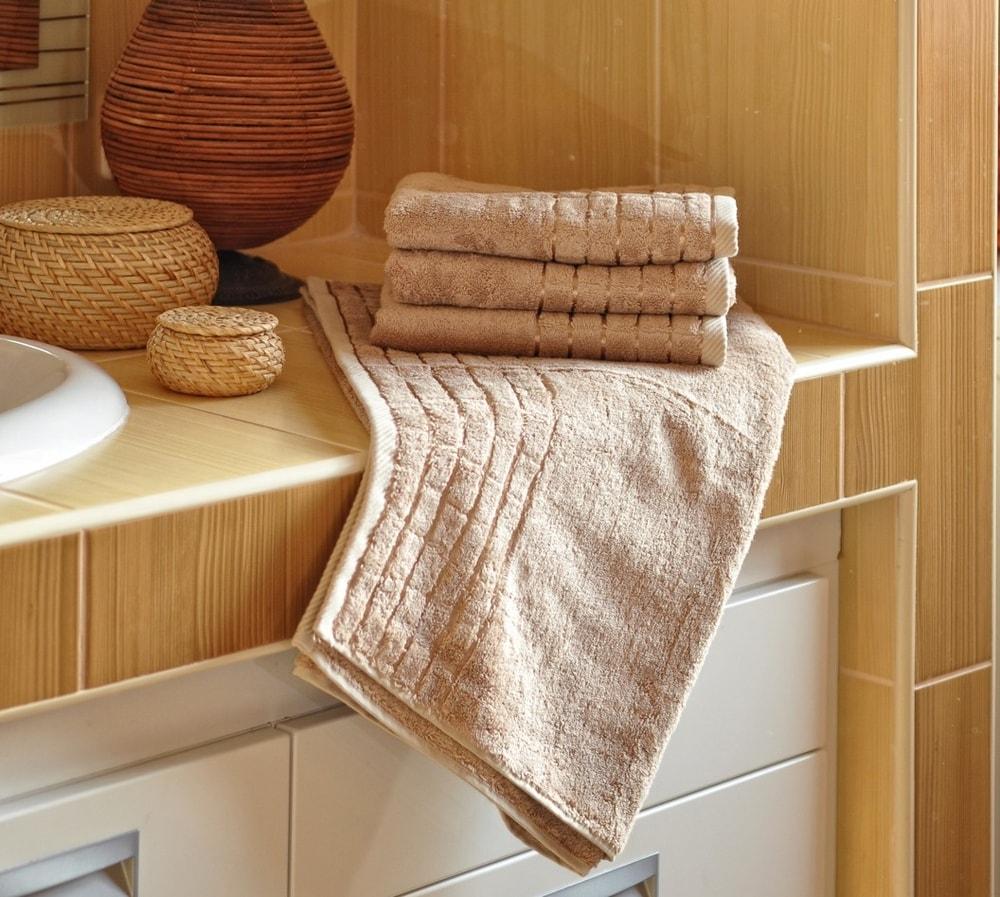 Polášek Bambusový uterák - Béžová | 50 x 100 cm