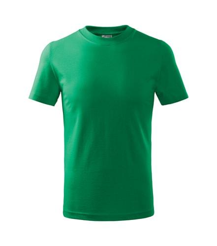 Adler Detské tričko Basic - Středně zelená | 110 cm (4 roky)