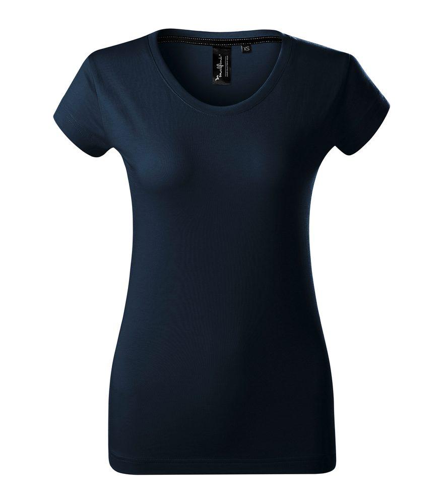Adler (MALFINI) Dámske tričko Malfini Exclusive - Námořní modrá | L