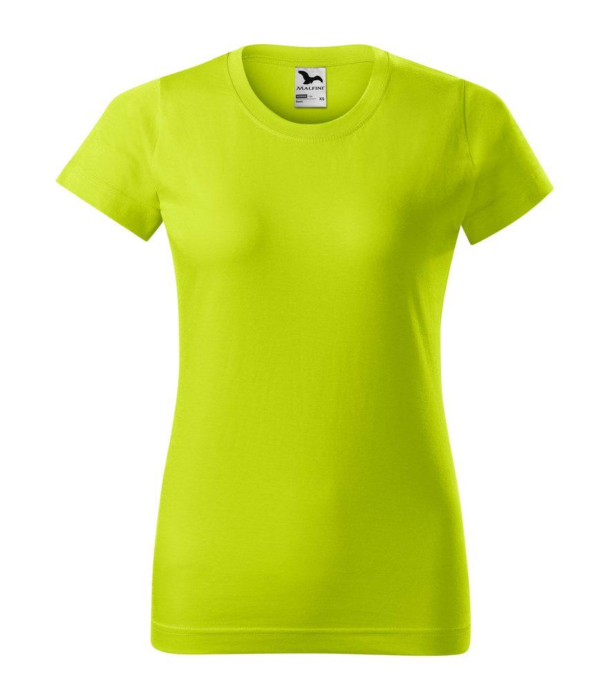 Adler Dámske tričko Basic - Limetková | XXL