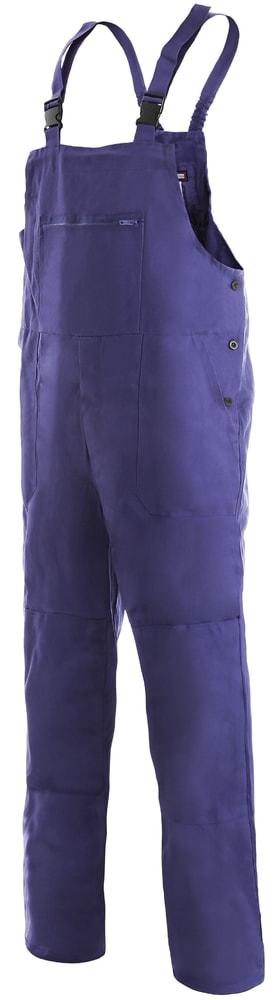 Canis Pánske pracovné nohavice s náprsenkou FRANTA - 48