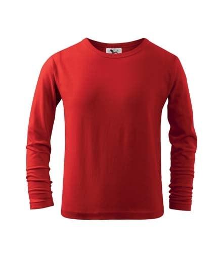 Adler Detské tričko s dlhým rukávom Long Sleeve - Červená   158 cm (12 let)