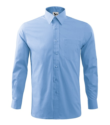 Adler Pánska košeľa Style Long Sleeve - Nebesky modrá | L