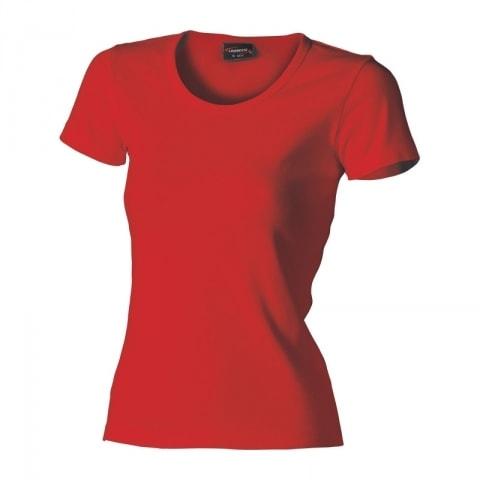 Lambeste Dámske tričko HEAVY - Červená | S