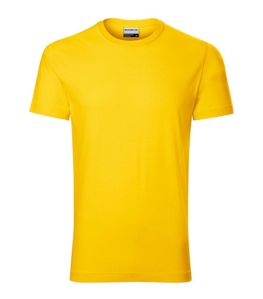 Adler Pánske tričko Resist heavy - Žlutá | XXXL