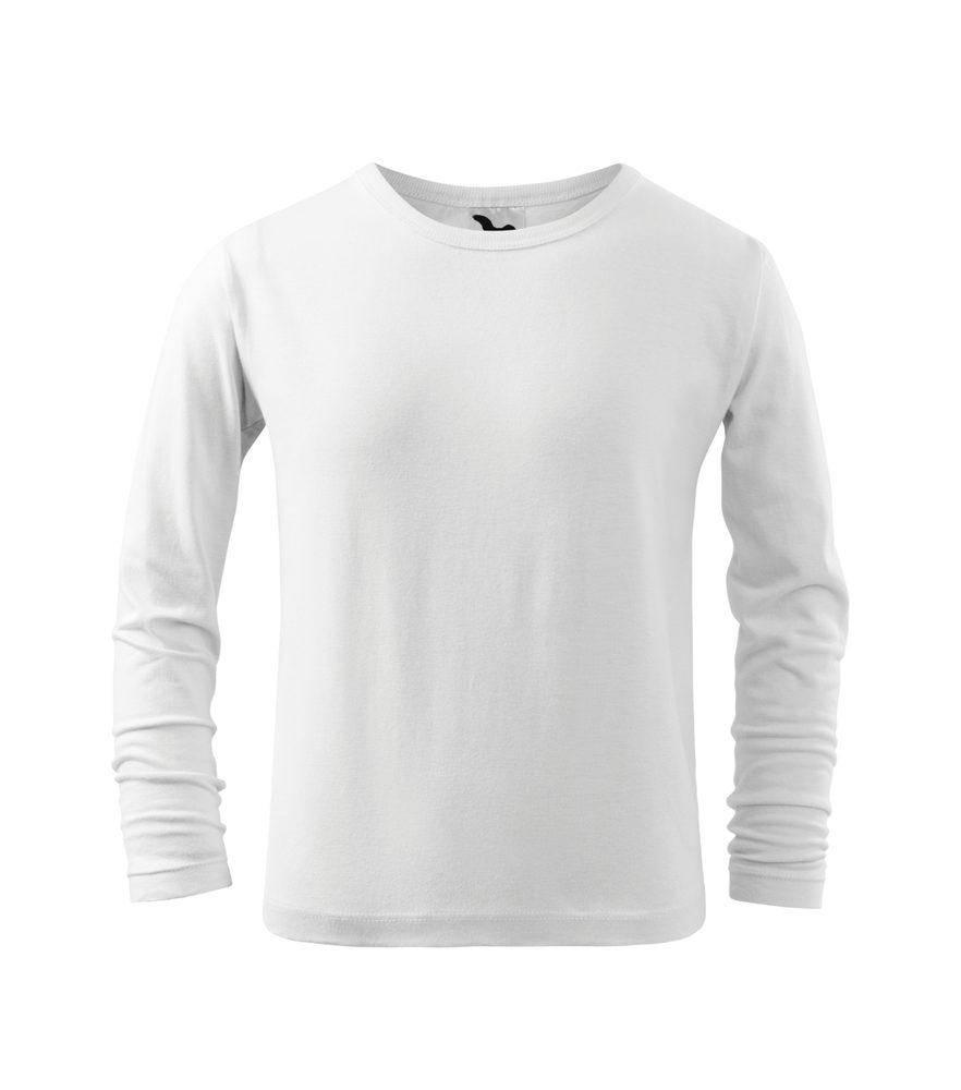 Adler Detské tričko s dlhým rukávom Long Sleeve - Bílá   110 cm (4 roky)