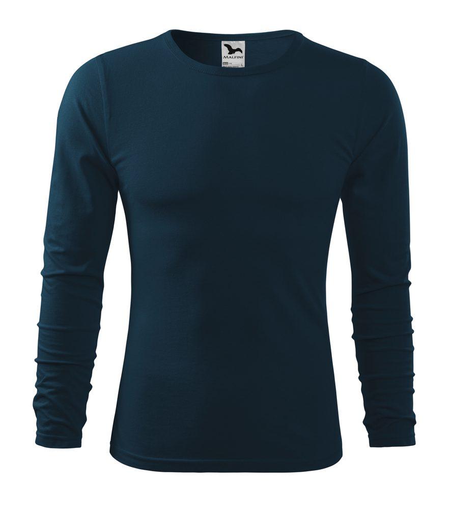 Adler Pánske tričko s dlhým rukávom Fit-T Long Sleeve - Námořní modrá | L