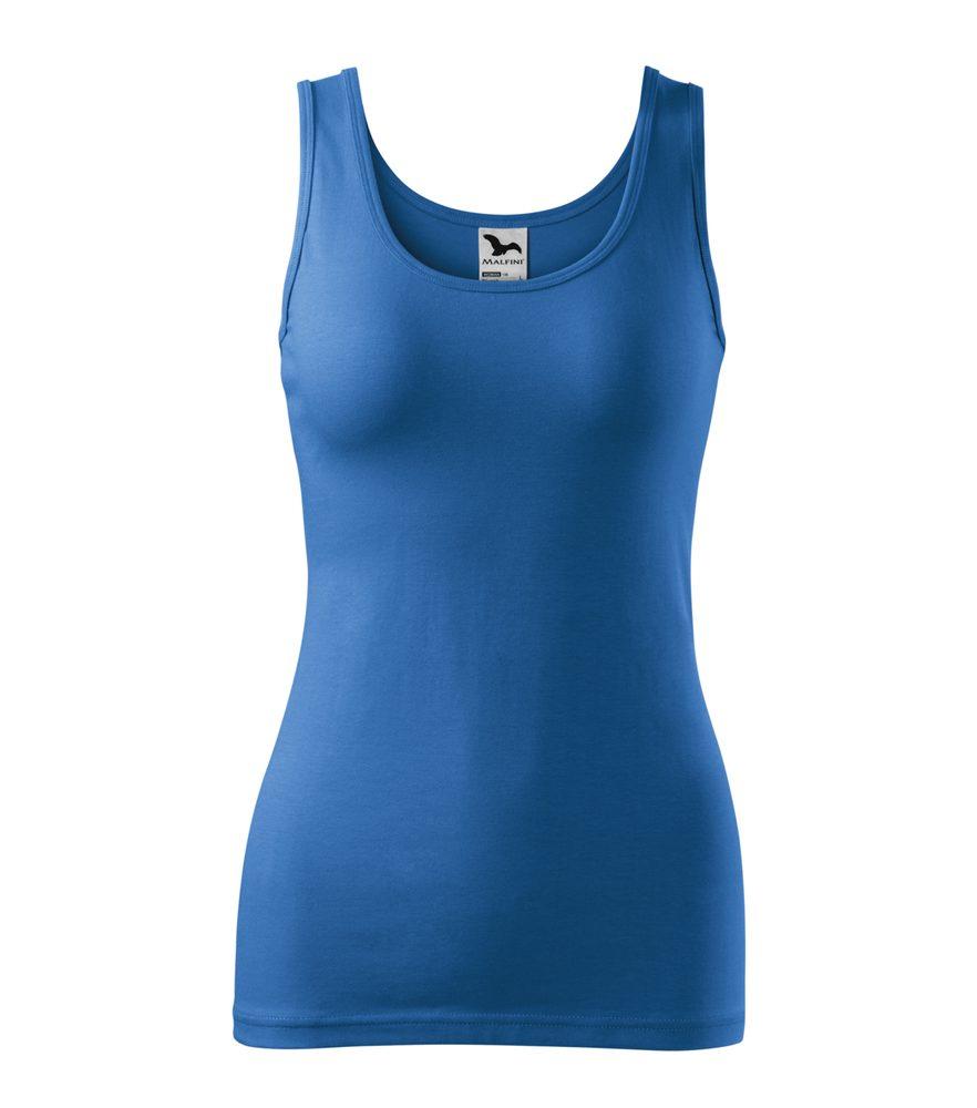 Adler (MALFINI) Dámske tielko Triumph - Azurově modrá | L