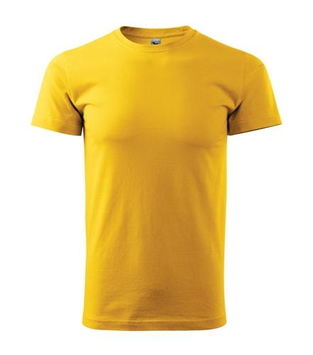Adler Pánske tričko Basic - Žlutá | XXL