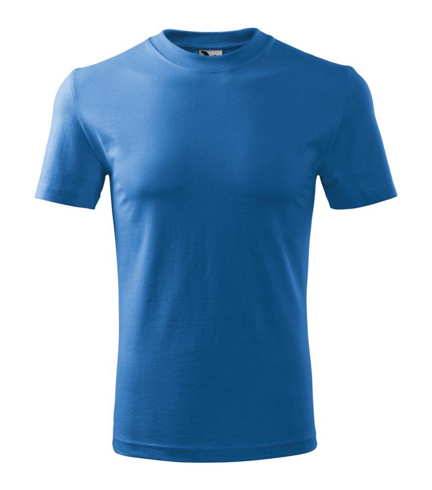 Adler Tričko Heavy - Azurově modrá | M
