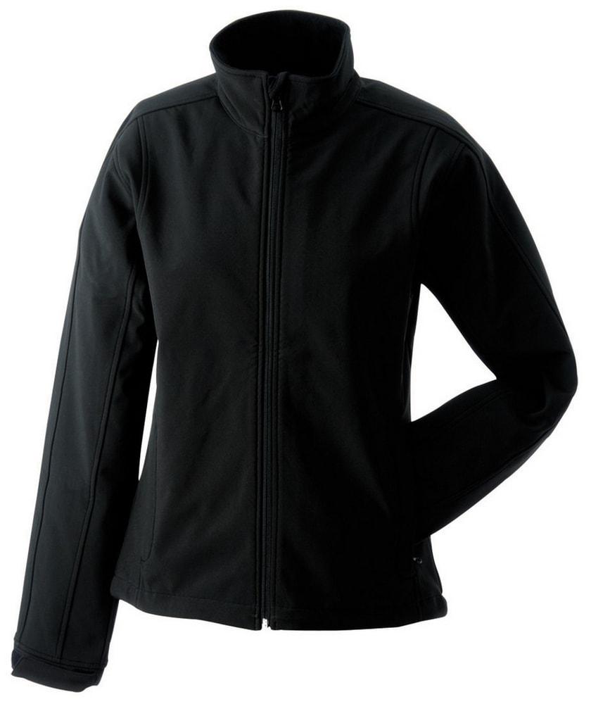 James & Nicholson Dámska softshellová bunda JN137 - Černá | L