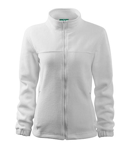 Adler Dámska fleecová mikina Jacket - Bílá | S