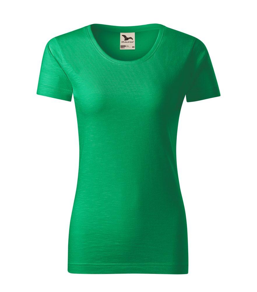 Adler (MALFINI) Dámske tričko Native - Středně zelená | XL