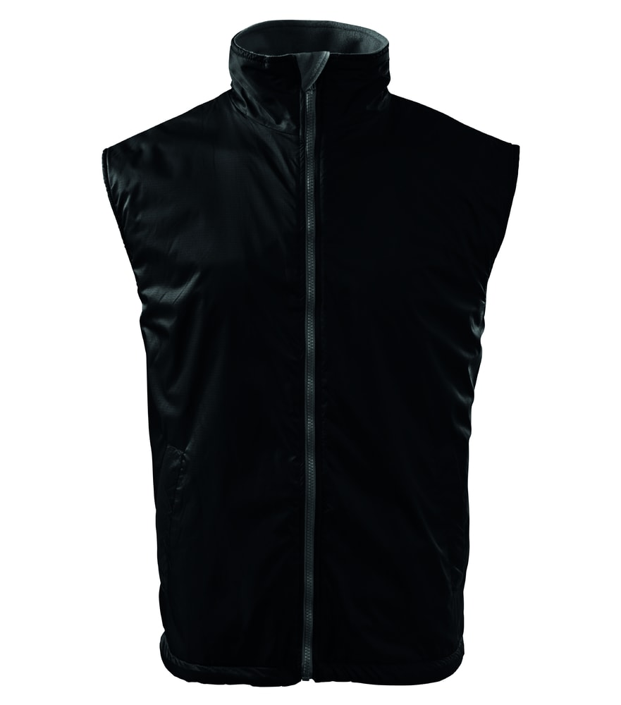 Adler Pánska vesta Body Warmer - Černá | XXXL