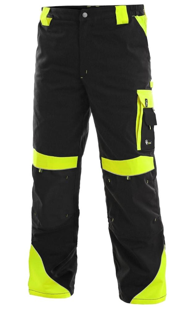 59fa0e852e13 Pracovní kalhoty SIRIUS BRIGHTON - Černá   žlutá