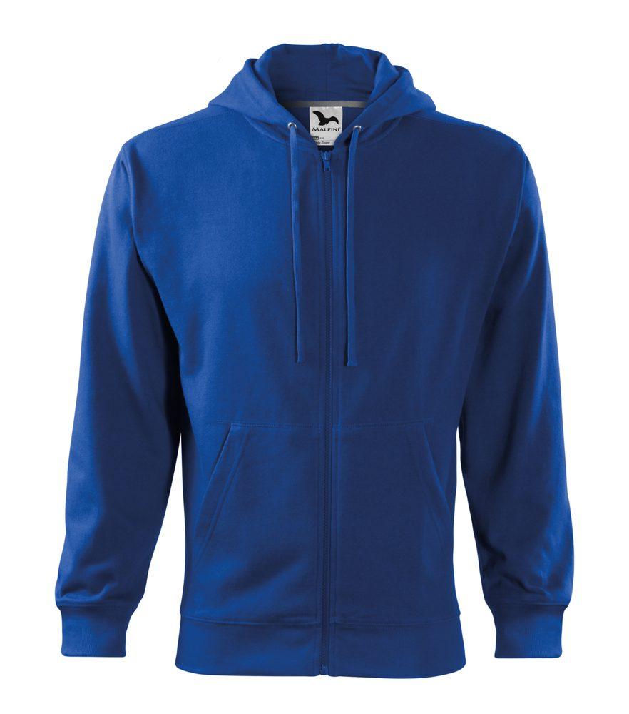 Adler Pánska mikina Trendy Zipper - Královská modrá | XXXL