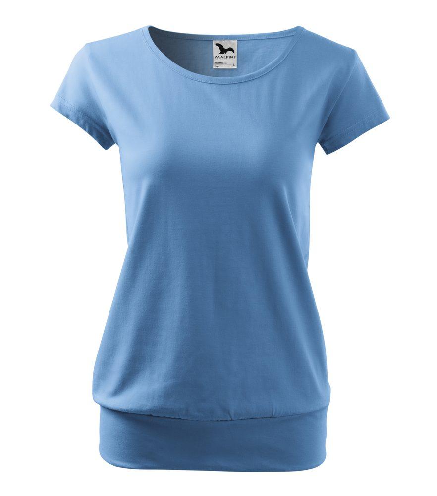 Adler Dámske tričko City - Nebesky modrá   XXL