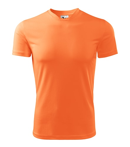 Adler Pánske tričko Fantasy - Neonově mandarinková | S