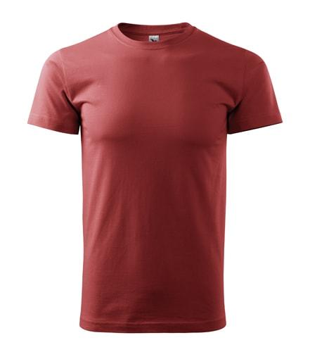Adler Pánske tričko Basic - Bordó | S