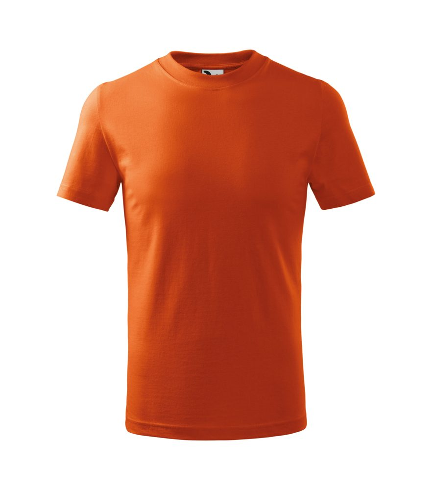 Adler Detské tričko Basic - Oranžová | 122 cm (6 let)