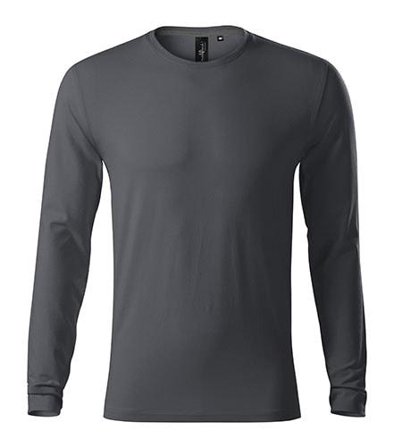 Adler Pánske tričko s dlhým rukávom Brave - Světlá antracitová | S