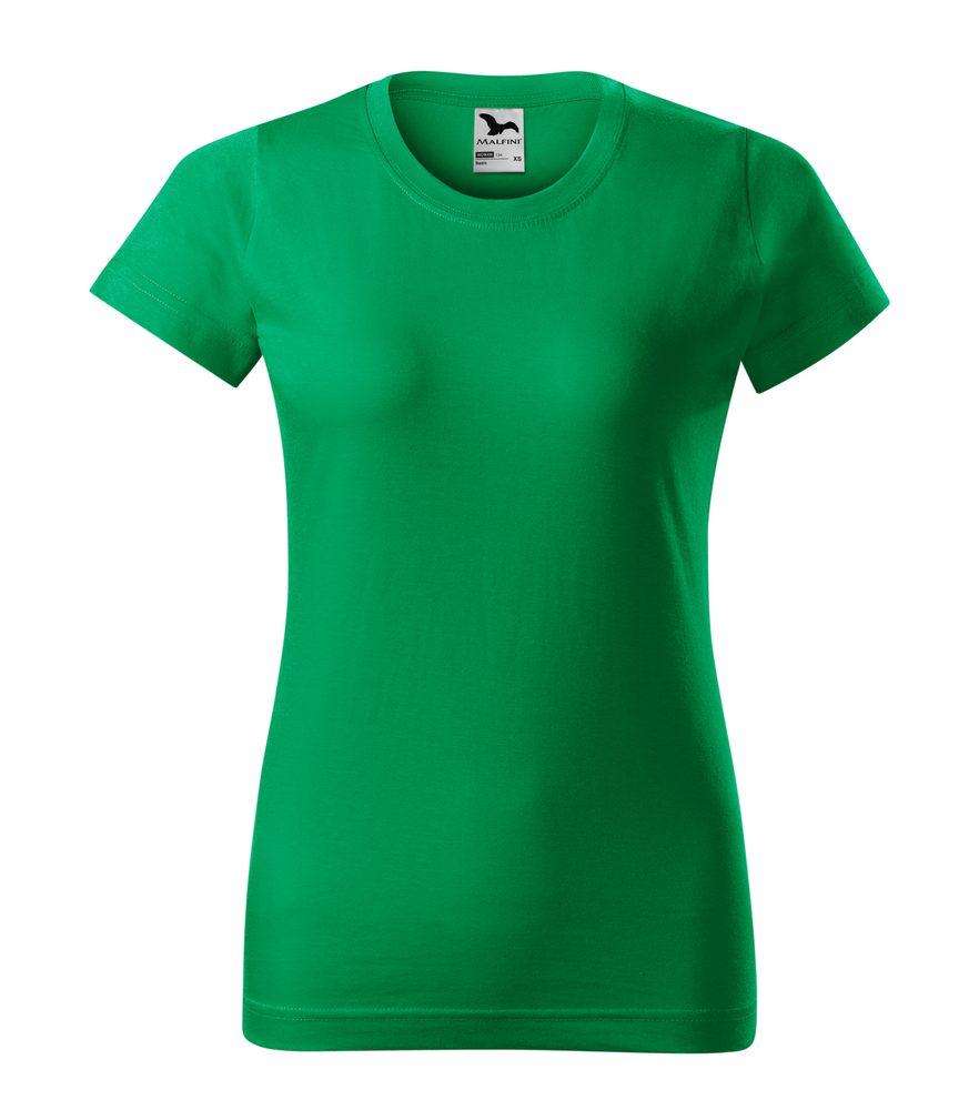 Adler Dámske tričko Basic - Středně zelená | M