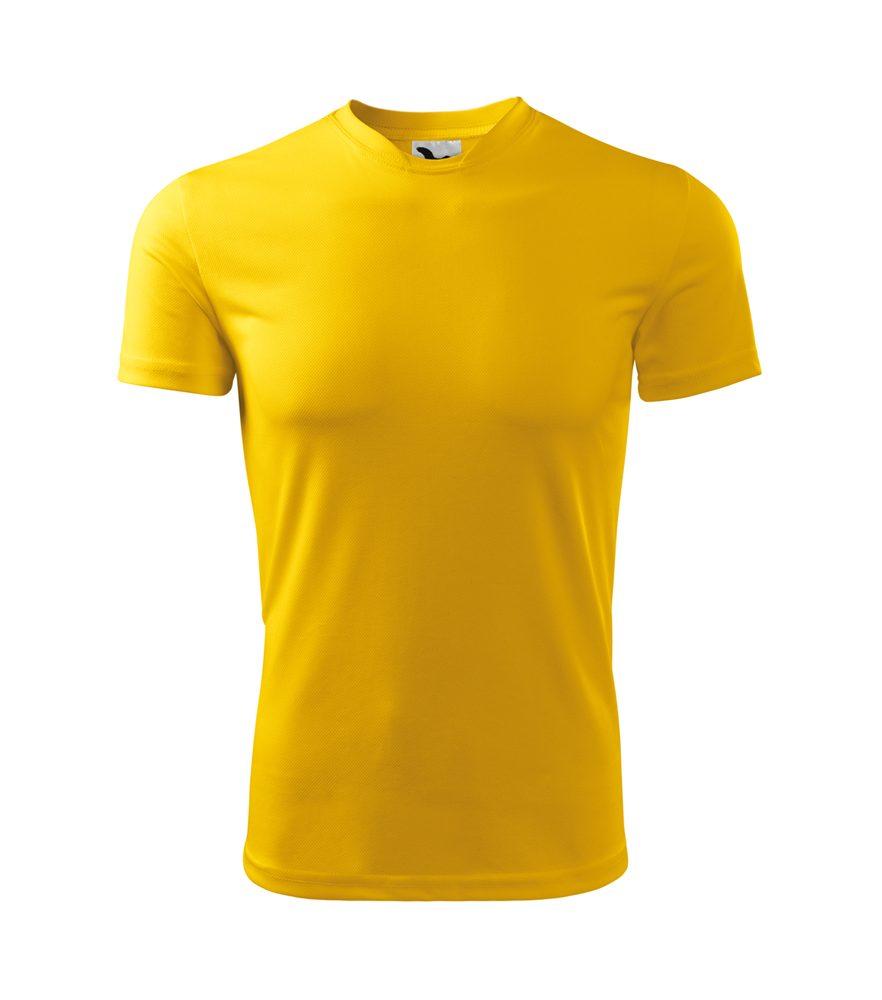 Adler Detské tričko Fantasy - Žlutá | 158 cm (12 let)