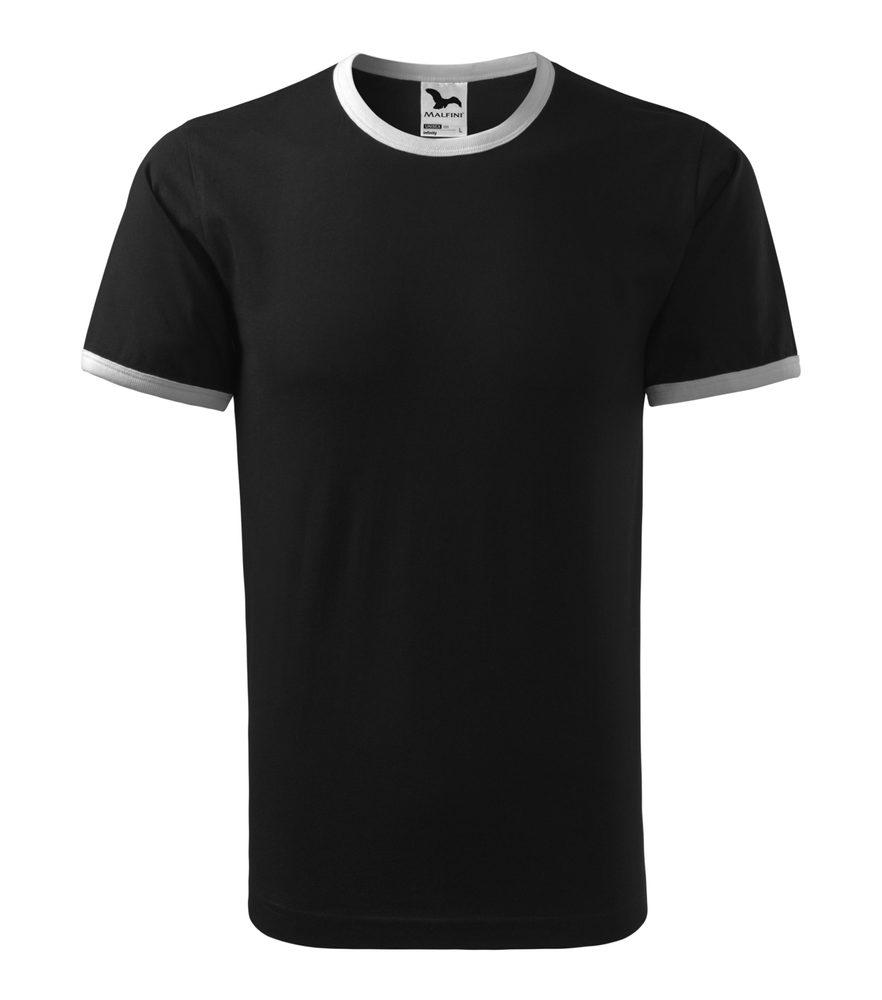Adler (MALFINI) Tričko Infinity - Černá | L