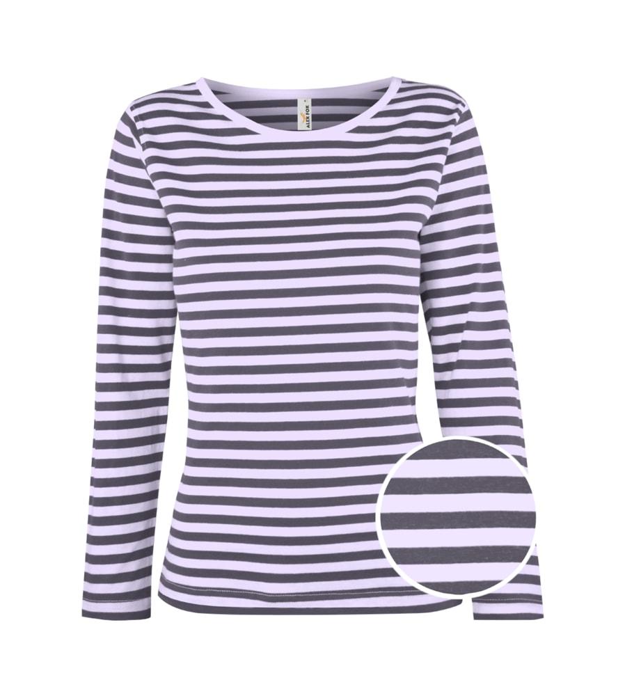 Alex Fox Dámske námornícke tričko s dlhým rukávom - S
