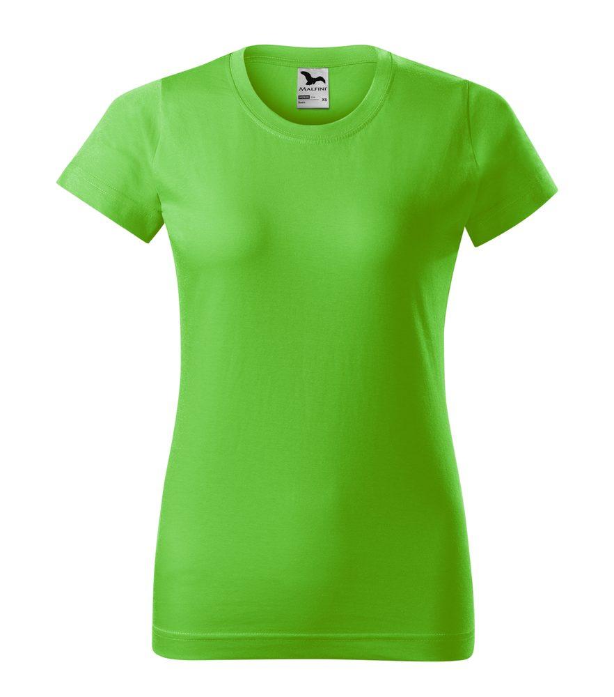 Adler Dámske tričko Basic - Apple green | XXL