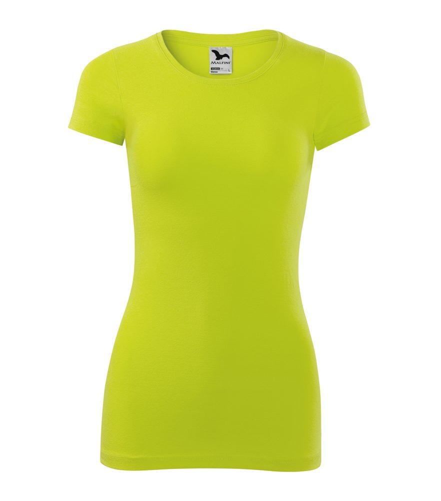 Adler Dámske tričko Glance - Limetková | S