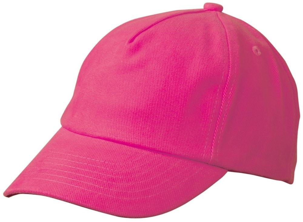 Dětská 5P kšiltovka MB7010 - Růžová