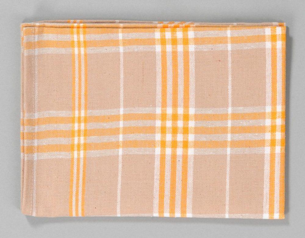 Dobrý Textil Kuchyňská bavlněná utěrka TINA - Žlutá