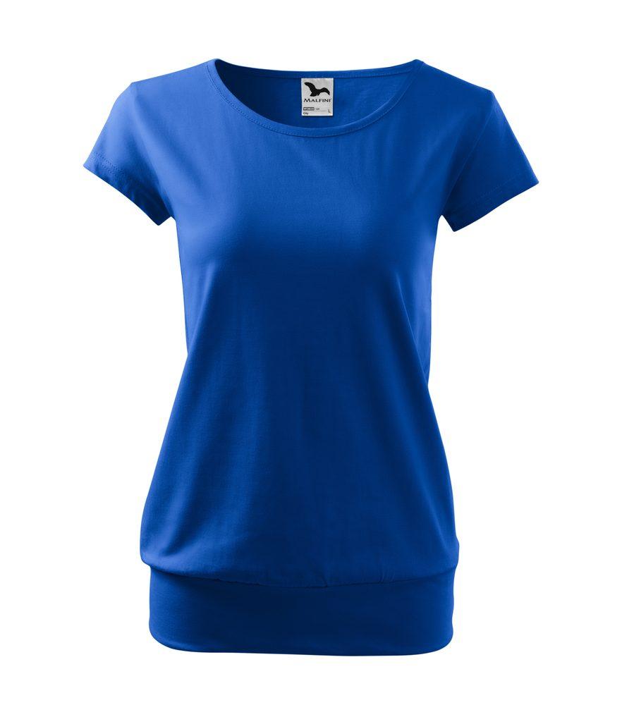 Adler (MALFINI) Dámske tričko City - Královská modrá | L