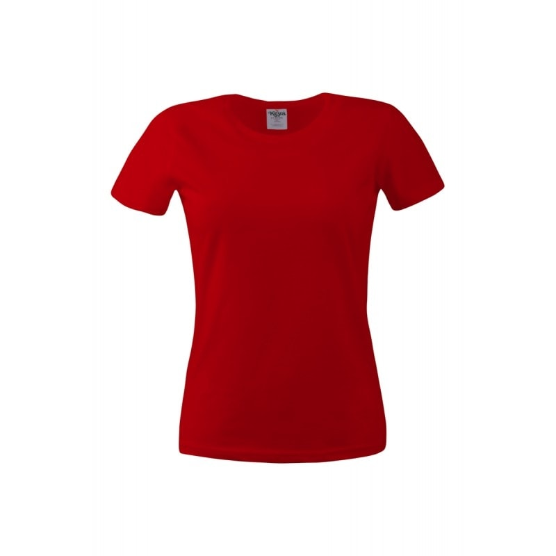 Keya Dámske tričko ECONOMY - Červená | S