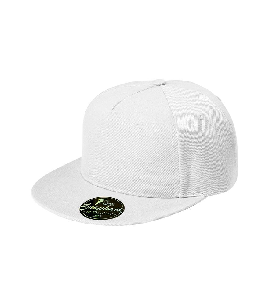 Kšiltovka Rap 5P - Bílá | uni