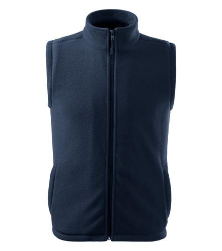 Adler Fleecová vesta Next - Námořní modrá | XXXL