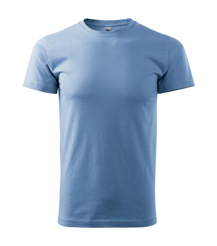 Adler Pánske tričko Basic - Nebesky modrá | XXL