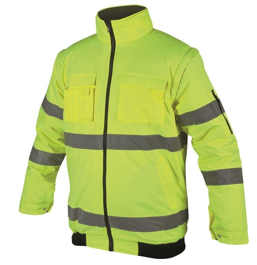 Ardon Nepremokavá reflexná bunda Howard reflex - Žlutá | XXL