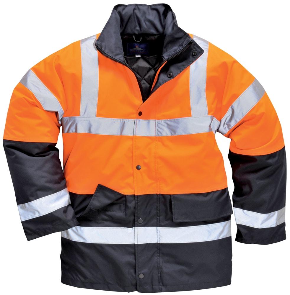 Ardon Zimná reflexná bunda s kapucňou - Oranžová | XXL
