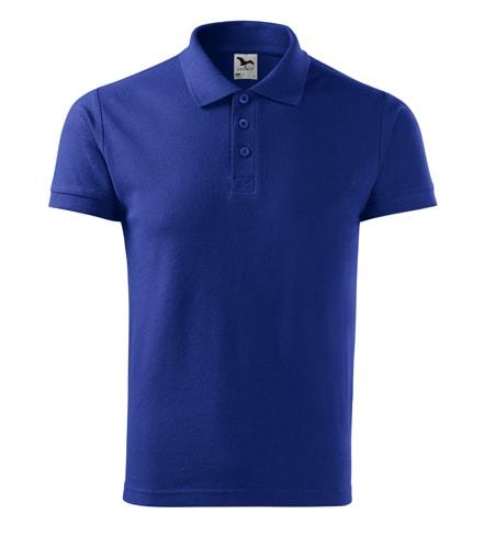 Pánská polokošile Cotton - Královská modrá   XL