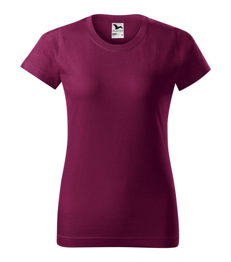 Adler Dámske tričko Basic - Fuchsiová | M