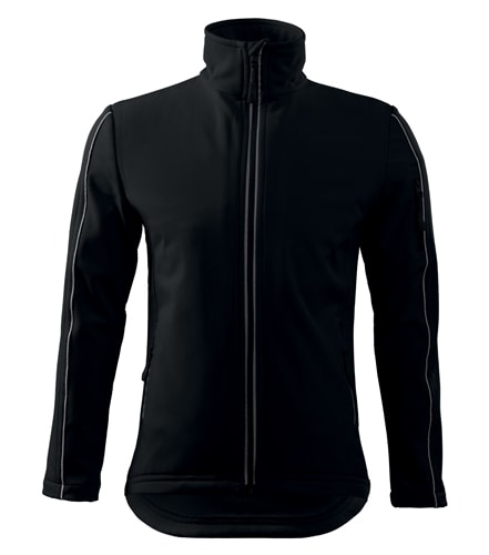 Adler Pánska bunda Softshell Jacket - Černá | XXL