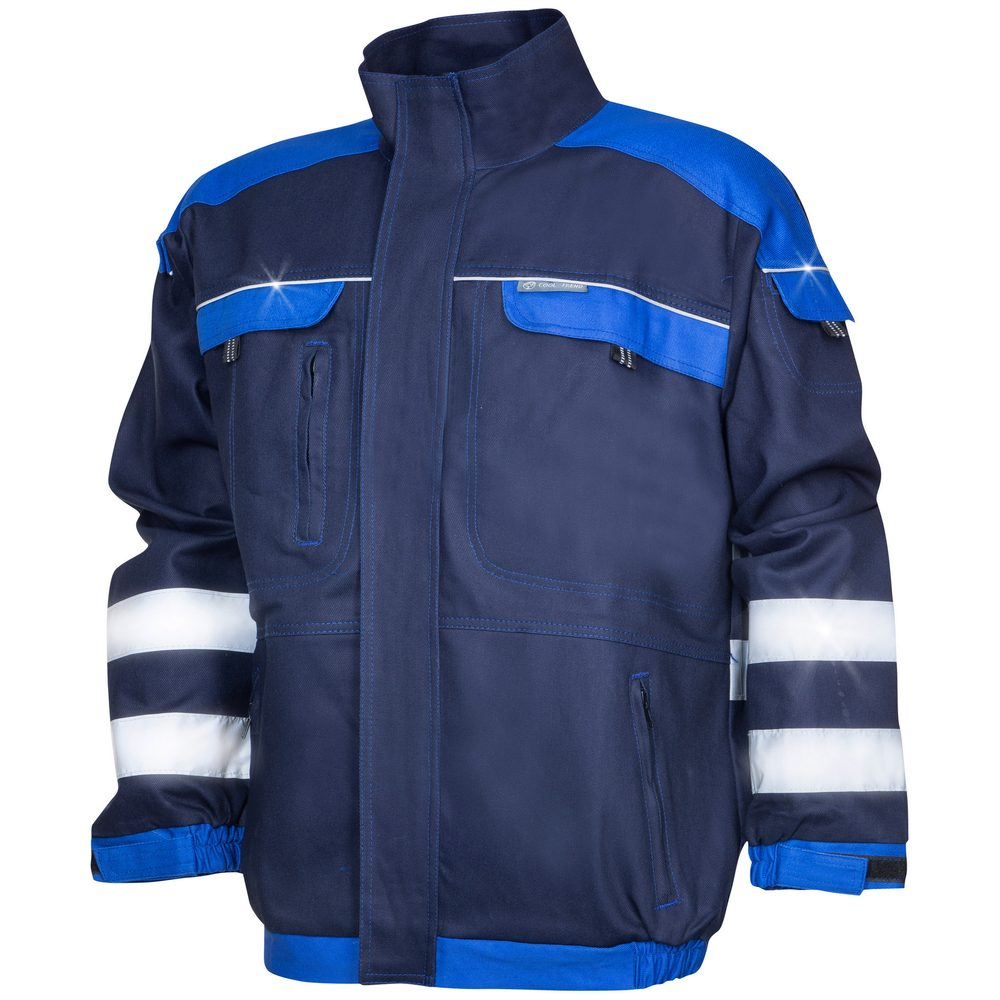 Ardon Reflexná pracovná blúza COOL TREND - Tmavě modrá / světle modrá   XXXL