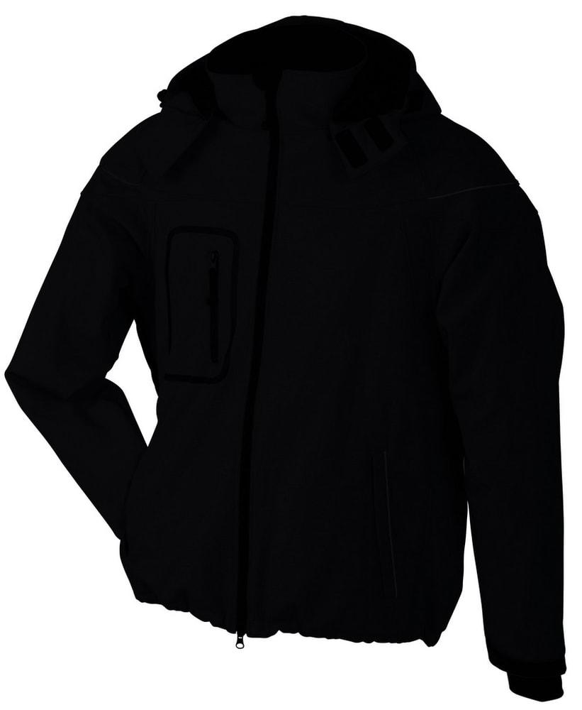 Zimní pánská softshellová bunda JN1000 - Černá | XXL