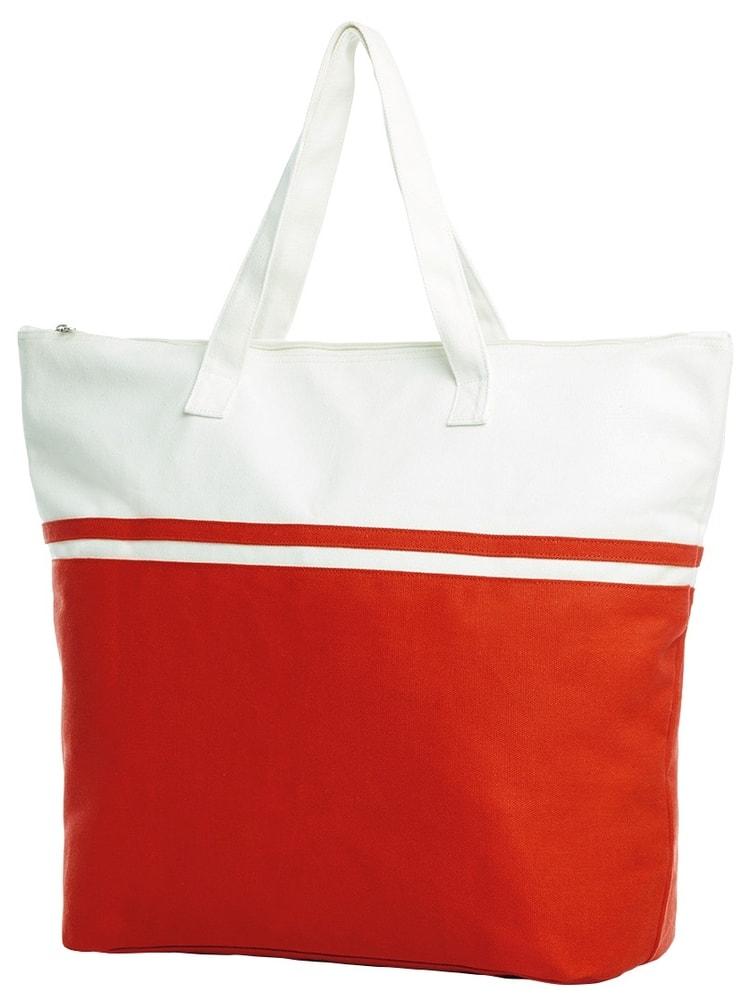 Halfar Veľká plážová taška SOUL - Červená